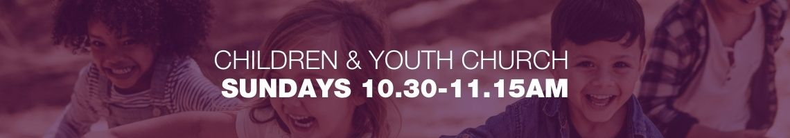 Children and youth services 10.30-11.15am